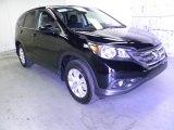 2012 Crystal Black Pearl Honda CR-V EX 4WD #69461225