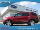 2013 Ruby Red Metallic Ford Explorer XLT 4WD #69460861