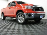 2009 Radiant Red Toyota Tundra SR5 Double Cab 4x4 #69461205