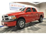 2009 Flame Red Dodge Ram 1500 SLT Crew Cab 4x4 #69461468