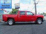 2012 Victory Red Chevrolet Silverado 1500 LT Crew Cab 4x4 #69460806