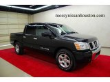 2007 Galaxy Black Nissan Titan SE Crew Cab #6906854