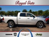 2012 Bright Silver Metallic Dodge Ram 1500 Big Horn Crew Cab 4x4 #69461433