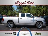 2012 Bright Silver Metallic Dodge Ram 1500 Express Quad Cab 4x4 #69461430