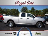 2012 Bright Silver Metallic Dodge Ram 1500 ST Quad Cab 4x4 #69460772