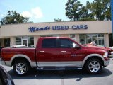 2011 Deep Cherry Red Crystal Pearl Dodge Ram 1500 Laramie Crew Cab 4x4 #69461109
