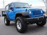 2011 Cosmos Blue Jeep Wrangler Sport S 4x4 #69460748