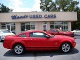 2007 Torch Red Ford Mustang V6 Premium Coupe #69461108