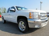 2013 Summit White Chevrolet Silverado 1500 LT Extended Cab #69461069
