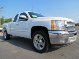 2013 Summit White Chevrolet Silverado 1500 LT Extended Cab #69461068