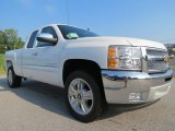 2013 Summit White Chevrolet Silverado 1500 LT Extended Cab #69461067