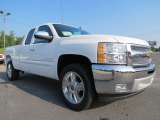 2013 Summit White Chevrolet Silverado 1500 LT Extended Cab #69461066
