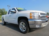 2012 Summit White Chevrolet Silverado 1500 LT Extended Cab #69461065