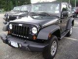 2012 Black Jeep Wrangler Sport 4x4 #69460695