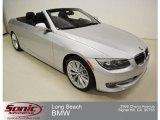 2011 Titanium Silver Metallic BMW 3 Series 335i Convertible #69461039
