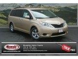 2012 Sandy Beach Metallic Toyota Sienna LE #69460655