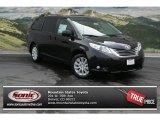 2012 Black Toyota Sienna XLE AWD #69460651