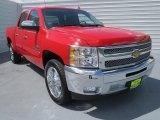 2012 Victory Red Chevrolet Silverado 1500 LT Crew Cab #69461011
