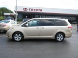 2011 Sandy Beach Metallic Toyota Sienna LE #69460644