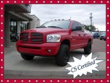 2007 Flame Red Dodge Ram 1500 Sport Quad Cab 4x4 #69461005
