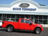 2011 Race Red Ford F150 FX4 SuperCab 4x4 #69460984