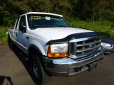 2000 Oxford White Ford F250 Super Duty XLT Extended Cab 4x4 #69460965