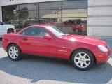 1998 Imperial Red Mercedes-Benz SLK 230 Kompressor Roadster #69461266
