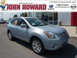 2012 Frosted Steel Nissan Rogue SV AWD #69523915