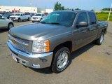 2013 Graystone Metallic Chevrolet Silverado 1500 LT Crew Cab 4x4 #69523886