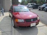2000 Colorado Red Metallic Volkswagen Passat GLX V6 Sedan #69523488