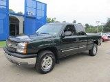2003 Dark Green Metallic Chevrolet Silverado 1500 LS Extended Cab 4x4 #69523483