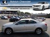 2013 Silver Ice Metallic Chevrolet Malibu LS #69524207