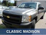 2009 Graystone Metallic Chevrolet Silverado 1500 Extended Cab #69523849
