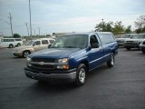 2004 Arrival Blue Metallic Chevrolet Silverado 1500 Regular Cab #69523838