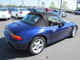 1996 BMW Z3 Montreal Blue Metallic