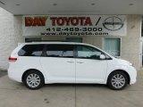 2012 Super White Toyota Sienna XLE AWD #69523420