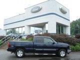 2005 Dark Blue Metallic Chevrolet Silverado 1500 Z71 Extended Cab 4x4 #69523401