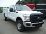 2012 Ford F350 Super Duty XL SuperCab 4x4 Commercial Data, Info and Specs