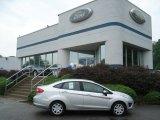 2013 Ingot Silver Ford Fiesta SE Sedan #69523397