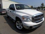 2007 Bright White Dodge Ram 1500 SLT Quad Cab #69523689