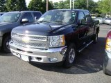 2013 Black Chevrolet Silverado 1500 LT Crew Cab 4x4 #69523274