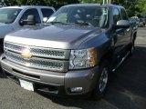 2013 Graystone Metallic Chevrolet Silverado 1500 LTZ Crew Cab 4x4 #69523271