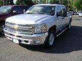 2013 Silver Ice Metallic Chevrolet Silverado 1500 LT Crew Cab 4x4 #69523267