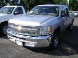 2013 Silver Ice Metallic Chevrolet Silverado 1500 LS Crew Cab #69523265