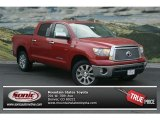 2012 Barcelona Red Metallic Toyota Tundra Platinum CrewMax 4x4 #69523245