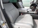 2010 Toyota Tundra Platinum CrewMax Graphite Gray Interior