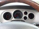 2010 Toyota Tundra Platinum CrewMax Gauges