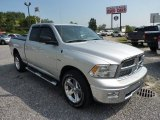 2012 Bright Silver Metallic Dodge Ram 1500 Big Horn Quad Cab 4x4 #69523995