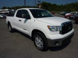 2010 Super White Toyota Tundra Double Cab 4x4 #69523993