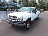 2005 Summit White Chevrolet Silverado 1500 LS Extended Cab 4x4 #69523965